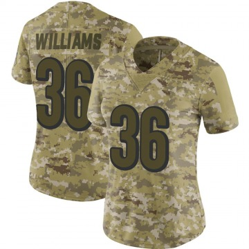 Women's Shawn Williams Cincinnati Bengals Limited Camo 2018 Salute to Service Jersey