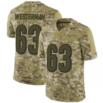 Youth Christian Westerman Cincinnati Bengals Limited Camo 2018 Salute to Service Jersey